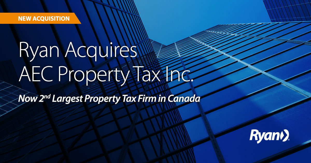 Ryan Acquires AEC Property Tax Inc.