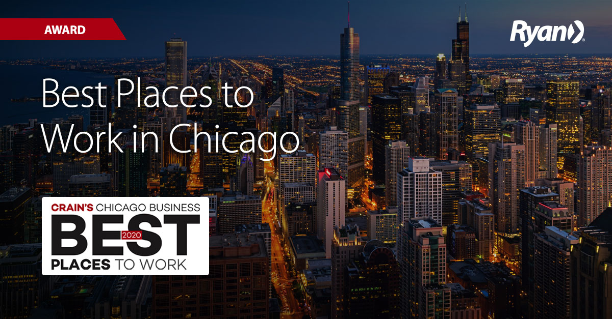 2020 Best Places to Work in Chicago