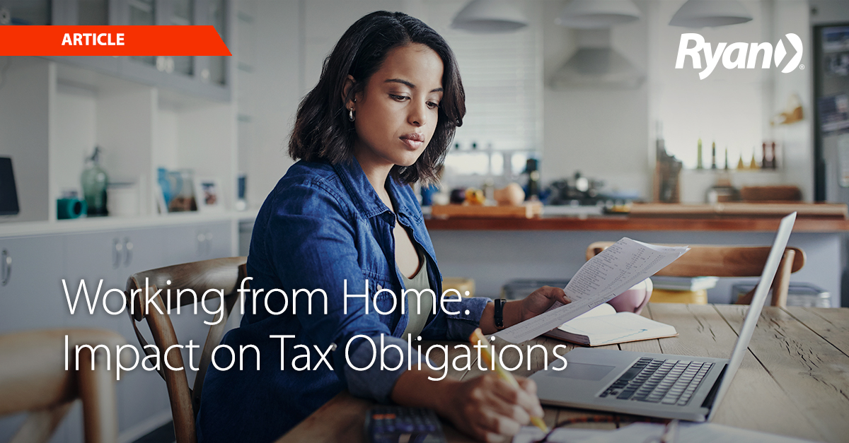 Oregon Working from Home: Impact on Tax Obligations