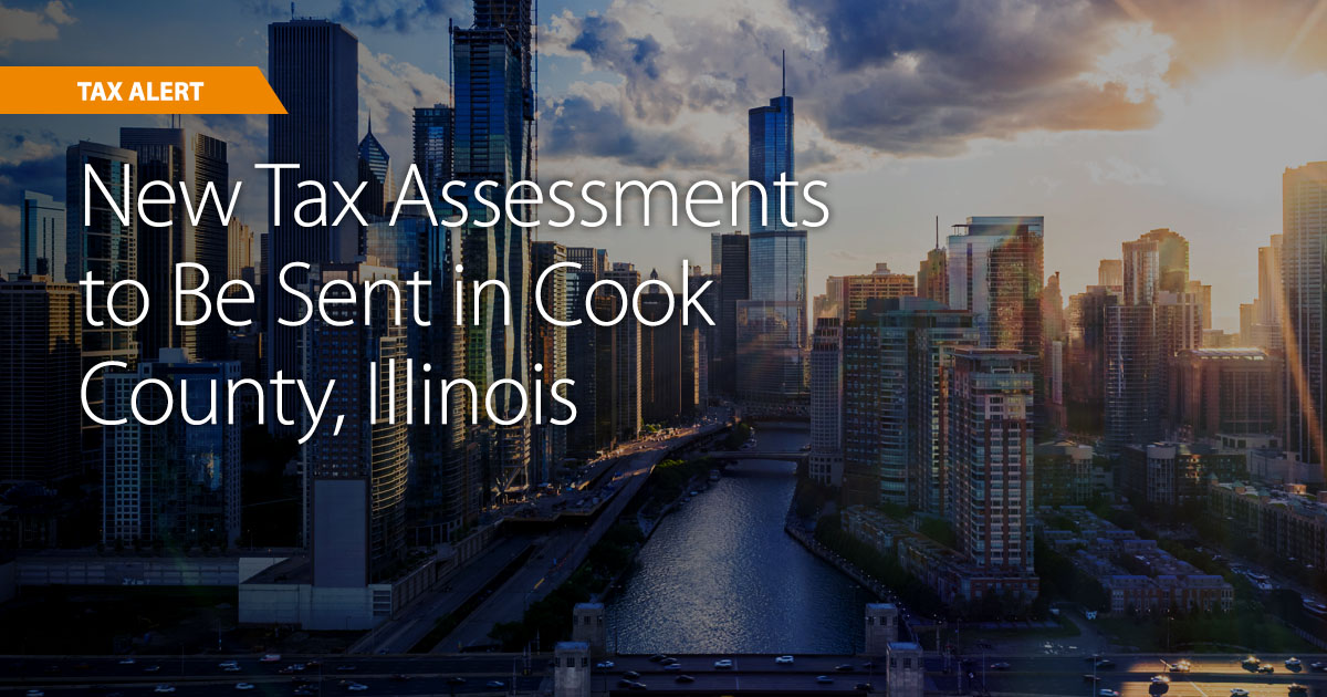 New Tax Assessments to Be Sent in Cook County, Illinois