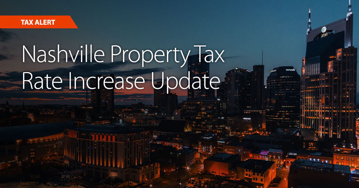 2021 Nashville property tax increases proposed by Mayor John Cooper