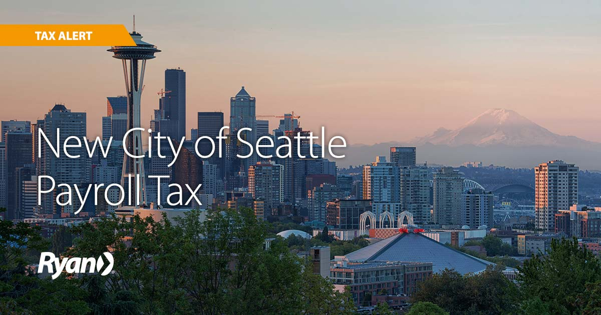 New City of Seattle Payroll Tax
